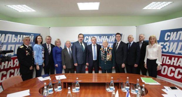 Открылся крымский региональный штаб общественной поддержки Владимира Путина