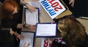 Штаб Путина прекращает сбор подписей в поддержку кандидата