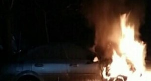 Ночью в Балаклаве горел автомобиль