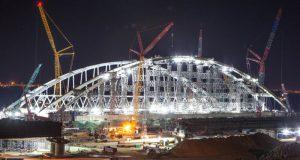 Точная дата открытия движения по Крымскому мосту уточнится к весне