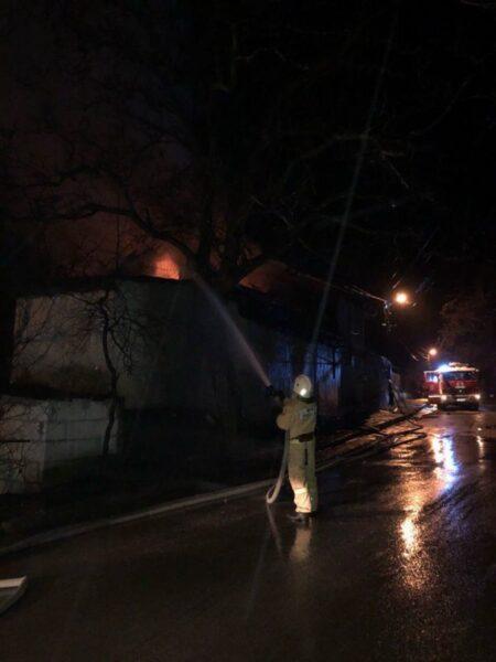 Утренний пожар в Ялте: погибла пожилая женщина