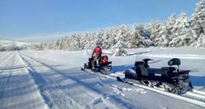 Спасатели «КРЫМ-СПАС» обеспечивают безопасность на Ангарском перевале и плато Ай-Петри