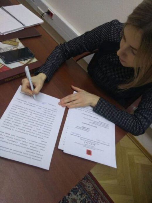 Наталья Поклонская попросила Генпрокуратуру РФ проверить ход ремонта дорог в Крыму