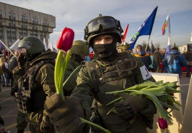 А, может быть спасибо скажем, Сердюкову и Васильевой за «вежливых людей»?