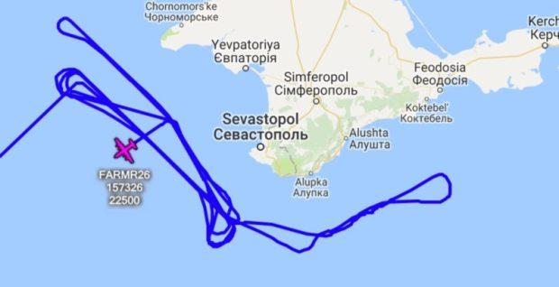 Два разведывательных самолета ВМС США проводили разведку вблизи Крыма
