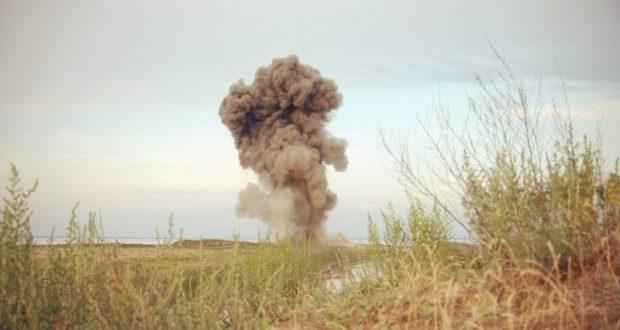 Крымские спасатели провели операцию по обезвреживанию немецкой авиационной бомбы