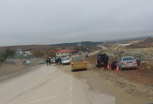 Два субботних ДТП под Симферополем: один человек погиб, семеро пострадали, шесть машин разбито