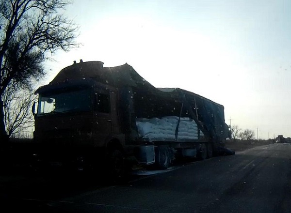 ДТП в Джанкойском районе. «Газель» столкнулась с фурой