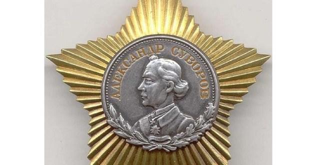 В честь Дня защитника Отечества Президент России вручит орден Суворова Южному военному округу