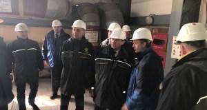 Крымский вице-премьер Юрий Гоцанюк посетил завод «Титановые инвестиции» в Армянске