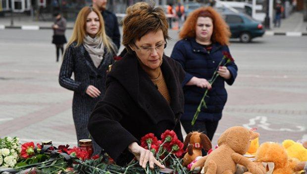 Симферополь скорбит по погибшим в Кемерово