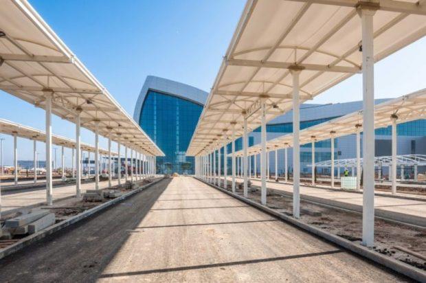 Новый терминал аэропорта Симферополя готов принимать организованные группы туристов