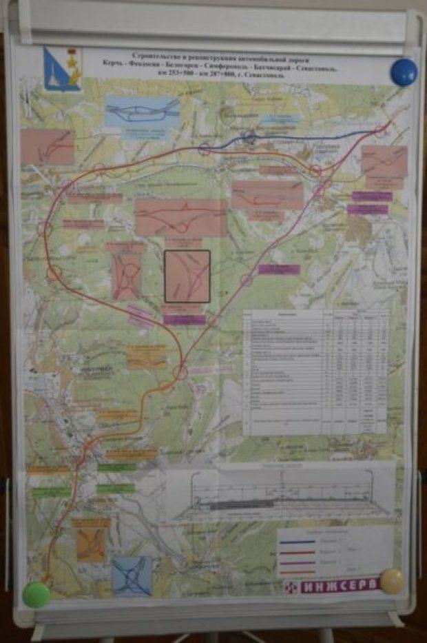 Первые километры севастопольских участков трассы «Таврида» заасфальтируют к сентябрю