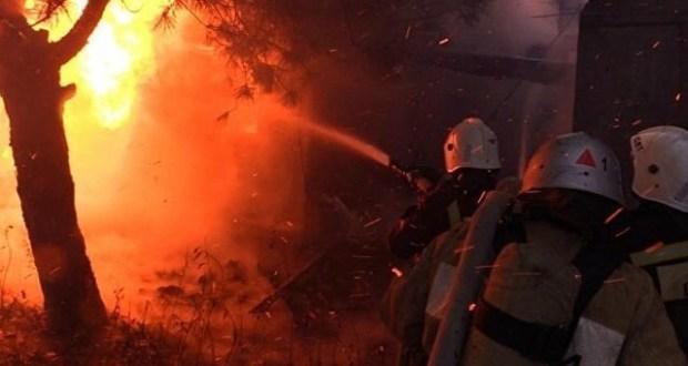 Бессонные ночи крымской пожарной охраны