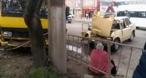 МВД проводит проверку по поводу ДТП в Симферополе в котором пострадали шесть человек
