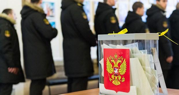 Черноморский флот показал пример добросовестной явки на выборах