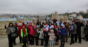 Греки Крымского полуострова посетили музей-заповедник «Херсонес Таврический»