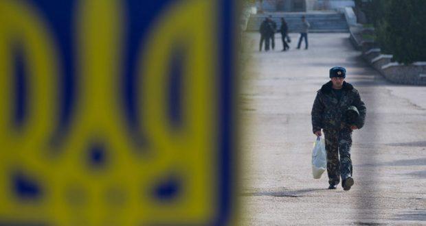 В Киеве признали, что в 2014 году ряды украинских армии и флота покинули свыше 4 тысяч крымчан