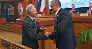 Сергей Аксёнов вручил награды по случаю четвёртой годовщины Крымской весны