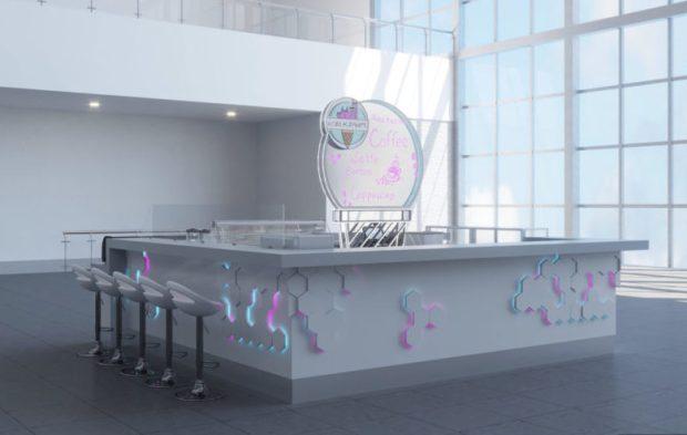 В новом терминале аэропорта Симферополя пассажиры будут вкусно есть и пить