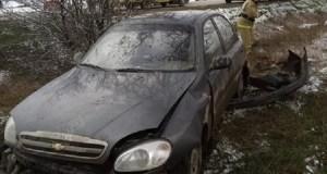 На трассе «Феодосия – Керчь» разбился «Ланос». Пострадала женщина-пассажир