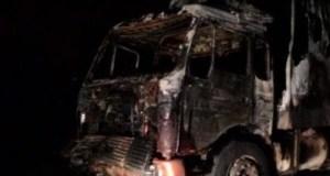 Ночью на трассе «Симферополь – Алушта» горел грузовик