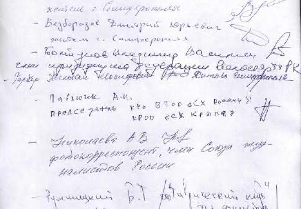 Приложение 2. Подписи
