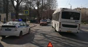 ГИБДД Севастополя: в ДТП с маршрутками пострадали дети
