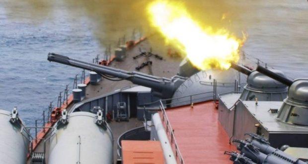 Корабельные расчёты ПВО Черноморского флота провели тренировку по противовоздушной обороне