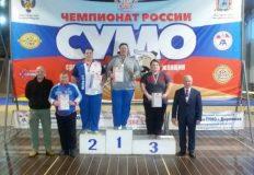 Сумоисты Крыма завоевали шесть медалей в чемпионате и юниорских первенствах России