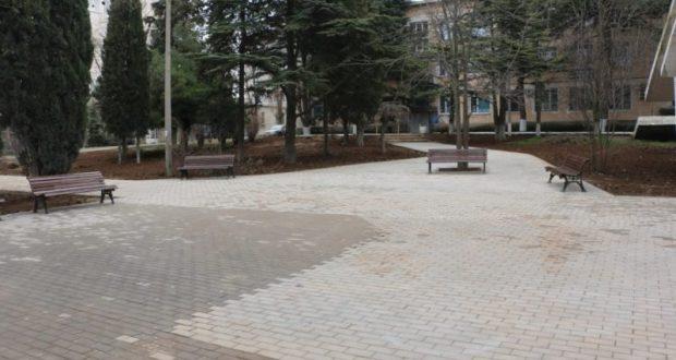 Проверка благоустройства севастопольских скверов