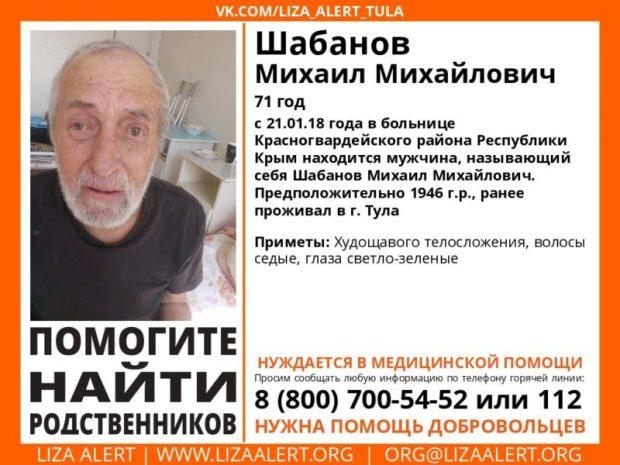 Внимание! Помогите найти родственников человека!
