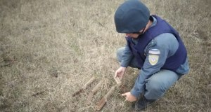 В районе с. Багерово обнаружили десяток авиабомб
