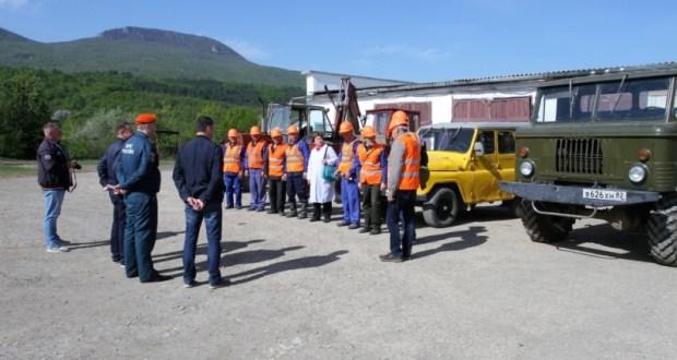 Учения МЧС на Загорском и Счастливинском водохранилищах ЮБК
