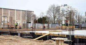 Дворец спорта в Евпатории строят, не выбиваясь из графика