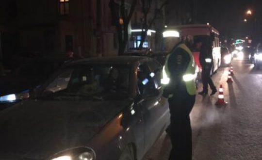 В Симферополе под праздник ловили нетрезвых водителей. И поймали