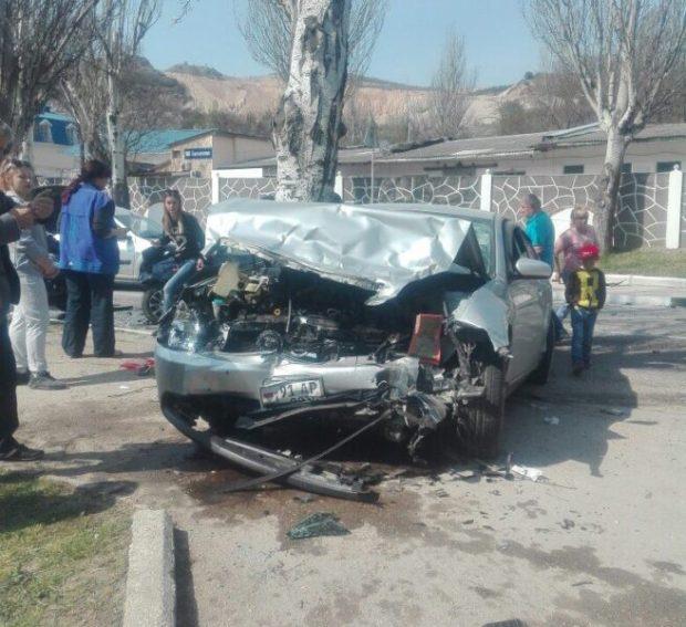 ДТП в Балаклаве: разбиты несколько машин