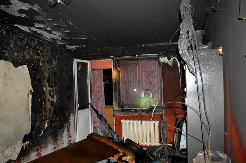 Cотрудники экстренных служб потушили пожар вмногоэтажке наюго-западе столицы