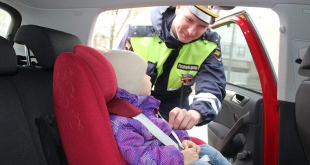 В Симферополе ГИБДД проведёт профилактическое мероприятие «Ребенок-пассажир!»
