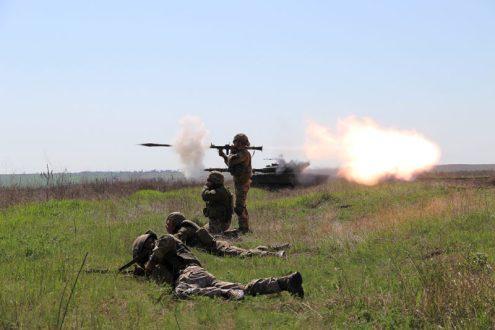 Украина провела «демонстрацию силы» на побережье Азовского моря
