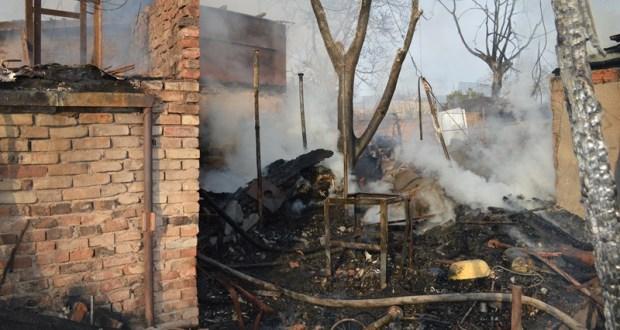 Всё сгорело. Дом, сарай, гараж, машина… Пожар в Севастополе