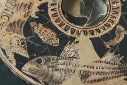 Очередные археологические находки на месте будущего подхода к Крымскому мосту