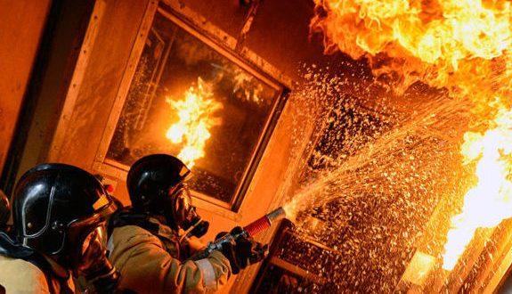 Пожар в Ялте: погибла женщина