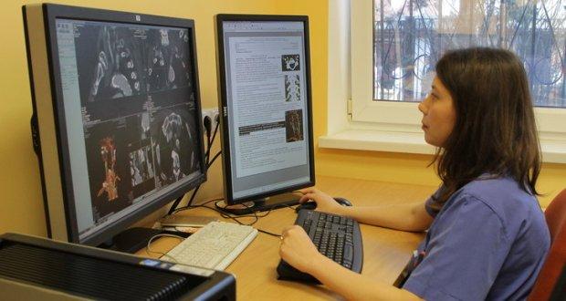 В Севастополе презентовали новый томограф. В горбольнице №1