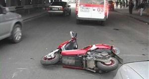 «Старики-разбойники». В ДТП в Ленинском районе Крыма пострадала 70-летняя… водитель скутера