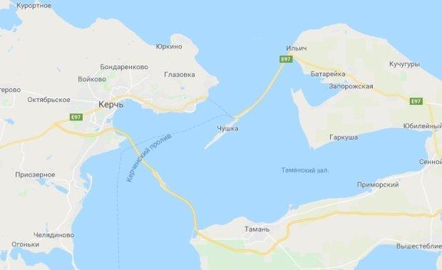 Крымский теперь есть и на картах Google