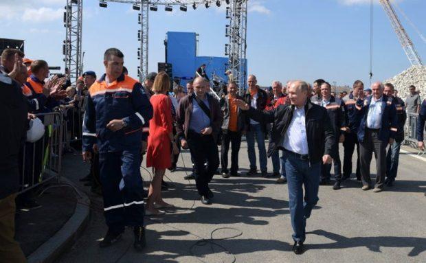 Кто и как именно воспринял открытие Крымского моста