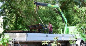 Парк имени Ю.А. Гагарина в Симферополе активно благоустраивают