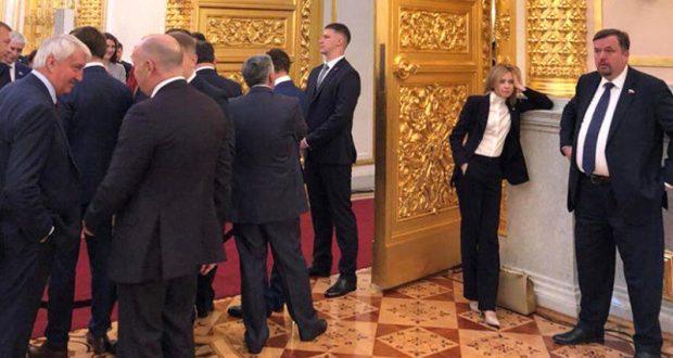 Наталья Поклонская о своем «скучающем виде» на фото из Кремля