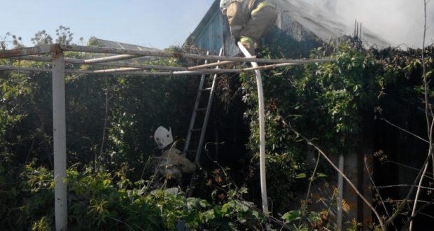 Пожары в крымских поселках Приморский и Софиевка